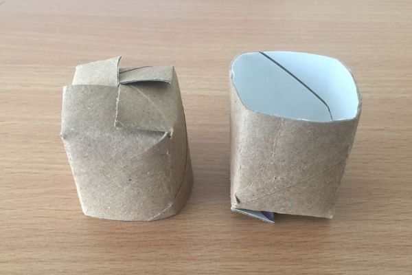 small toilet paper roll pots